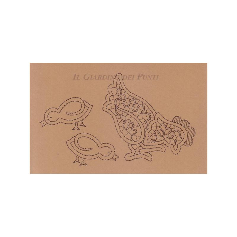 Disegno Gallina n. 126