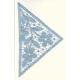 Triangolo con margherite n.107