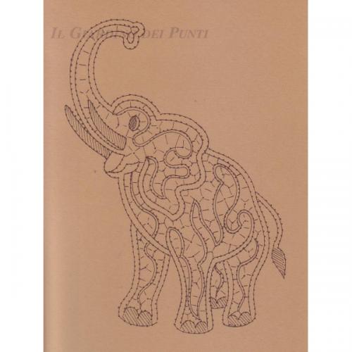 Disegno Elefante n. 127