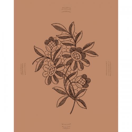 Disegno ramo fiori n. 026