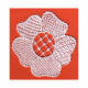 Orditura con fiori per pizzo Burano