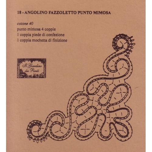 Angolino punto mimosa n. 018